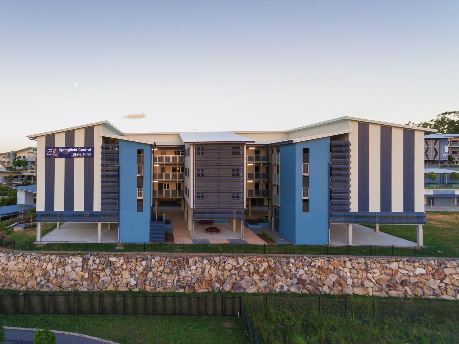 Springfield SHS SLC by biscoe wilson | architects