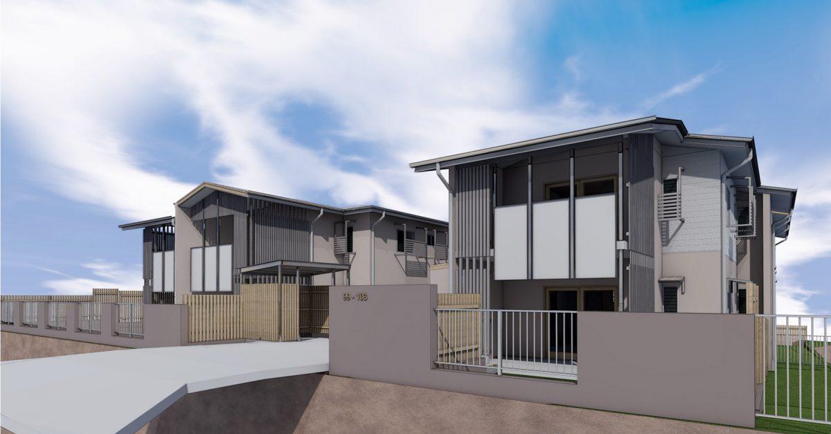 Nundah Social Housing Project by BWA